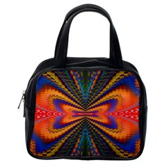 Casanova Abstract Art Colors Cool Druffix Flower Freaky Trippy Classic Handbags (one Side)