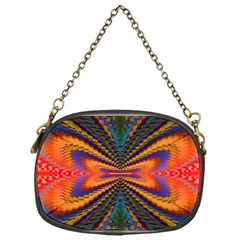 Casanova Abstract Art Colors Cool Druffix Flower Freaky Trippy Chain Purses (one Side)