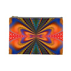 Casanova Abstract Art Colors Cool Druffix Flower Freaky Trippy Cosmetic Bag (large)
