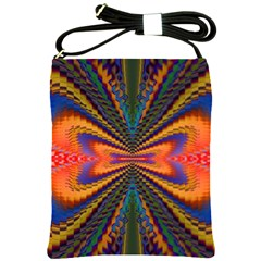Casanova Abstract Art Colors Cool Druffix Flower Freaky Trippy Shoulder Sling Bags