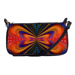 Casanova Abstract Art Colors Cool Druffix Flower Freaky Trippy Shoulder Clutch Bags