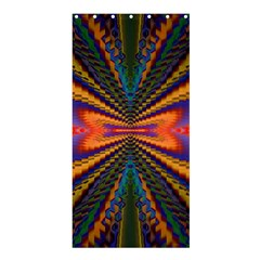 Casanova Abstract Art Colors Cool Druffix Flower Freaky Trippy Shower Curtain 36  X 72  (stall)