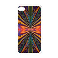 Casanova Abstract Art Colors Cool Druffix Flower Freaky Trippy Apple Iphone 4 Case (white)