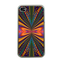 Casanova Abstract Art Colors Cool Druffix Flower Freaky Trippy Apple Iphone 4 Case (clear)