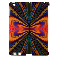 Casanova Abstract Art Colors Cool Druffix Flower Freaky Trippy Apple Ipad 3/4 Hardshell Case (compatible With Smart Cover)