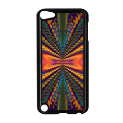 Casanova Abstract Art Colors Cool Druffix Flower Freaky Trippy Apple Ipod Touch 5 Case (black)