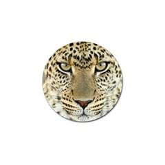 Leopard Face Golf Ball Marker (10 Pack)