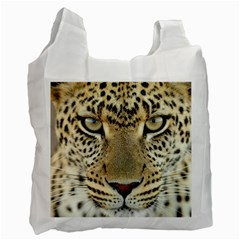 Leopard Face Recycle Bag (two Side)