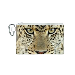 Leopard Face Canvas Cosmetic Bag (s)
