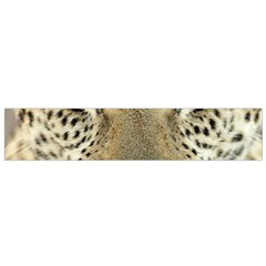 Leopard Face Flano Scarf (small)