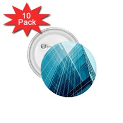 Glass Bulding 1 75  Buttons (10 Pack)