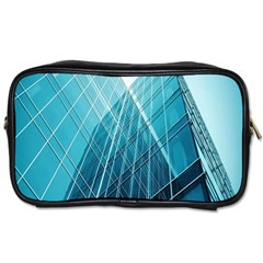 Glass Bulding Toiletries Bags 2 Side