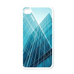Glass Bulding Apple Iphone 4 Case (white)