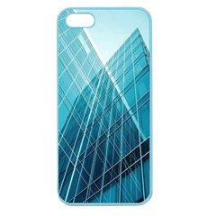 Glass Bulding Apple Seamless Iphone 5 Case (color)