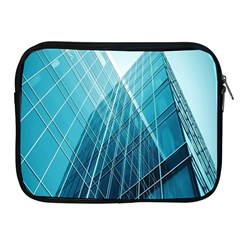 Glass Bulding Apple Ipad 2/3/4 Zipper Cases