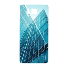Glass Bulding Samsung Galaxy Alpha Hardshell Back Case