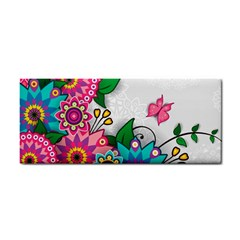 Flowers Pattern Vector Art Cosmetic Storage Cases