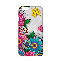Flowers Pattern Vector Art Apple Iphone 6/6s Hardshell Case