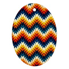 The Amazing Pattern Library Ornament (oval)