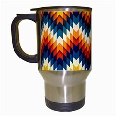 The Amazing Pattern Library Travel Mugs (white)
