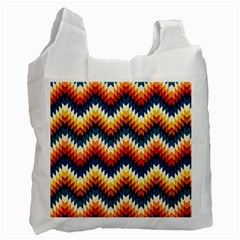 The Amazing Pattern Library Recycle Bag (one Side)
