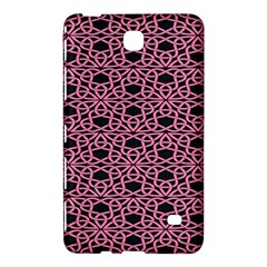 Triangle Knot Pink And Black Fabric Samsung Galaxy Tab 4 (8 ) Hardshell Case