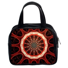 Circle Pattern Classic Handbags (2 Sides)