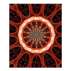 Circle Pattern Shower Curtain 60  X 72  (medium)
