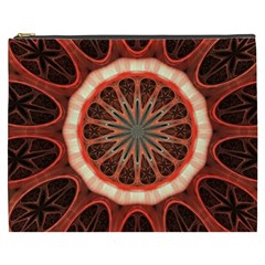 Circle Pattern Cosmetic Bag (xxxl)