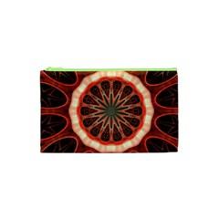 Circle Pattern Cosmetic Bag (xs)