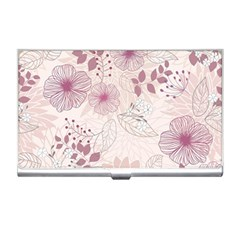 Leaves Pattern Business Card Holders