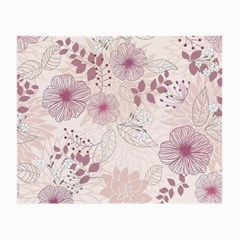 Leaves Pattern Small Glasses Cloth (2 Side)