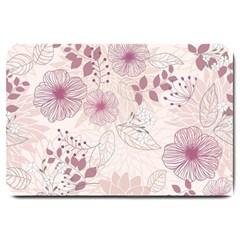 Leaves Pattern Large Doormat