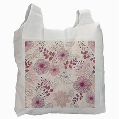 Leaves Pattern Recycle Bag (one Side)