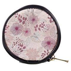 Leaves Pattern Mini Makeup Bags