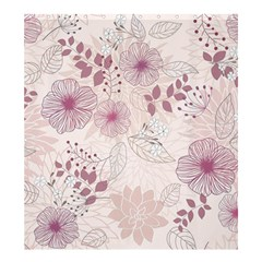 Leaves Pattern Shower Curtain 66  X 72  (large)