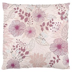 Leaves Pattern Large Cushion Case (one Side)