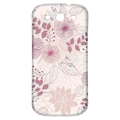 Leaves Pattern Samsung Galaxy S3 S Iii Classic Hardshell Back Case