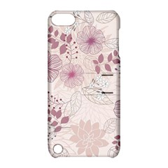 Leaves Pattern Apple Ipod Touch 5 Hardshell Case With Stand
