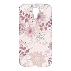 Leaves Pattern Samsung Galaxy S4 I9500/i9505 Hardshell Case
