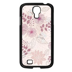 Leaves Pattern Samsung Galaxy S4 I9500/ I9505 Case (black)
