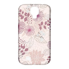 Leaves Pattern Samsung Galaxy S4 Classic Hardshell Case (pc+silicone)