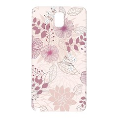 Leaves Pattern Samsung Galaxy Note 3 N9005 Hardshell Back Case