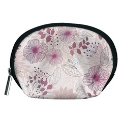 Leaves Pattern Accessory Pouches (medium)