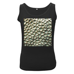 Ocean Pattern Women s Black Tank Top