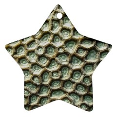 Ocean Pattern Star Ornament (two Sides)