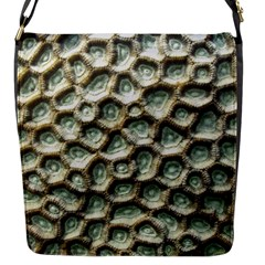 Ocean Pattern Flap Messenger Bag (s)