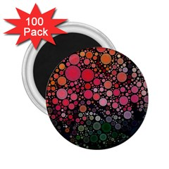 Circle Abstract 2 25  Magnets (100 Pack)