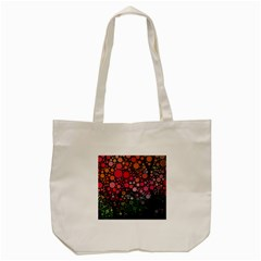 Circle Abstract Tote Bag (cream)