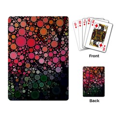 Circle Abstract Playing Card